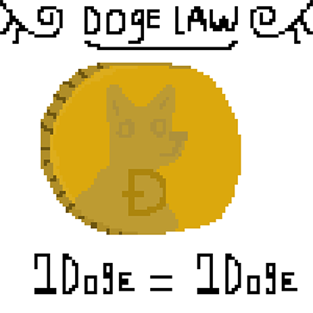 The DOGE is a parodical currency created out of a meme which is now taken more and more seriously as cryptocurrencies develop